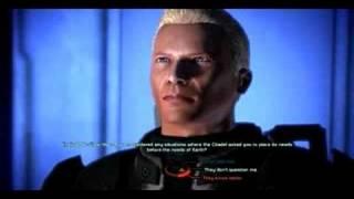 Mass Effect - Shepard (Dearka) Renegade , funny scenes