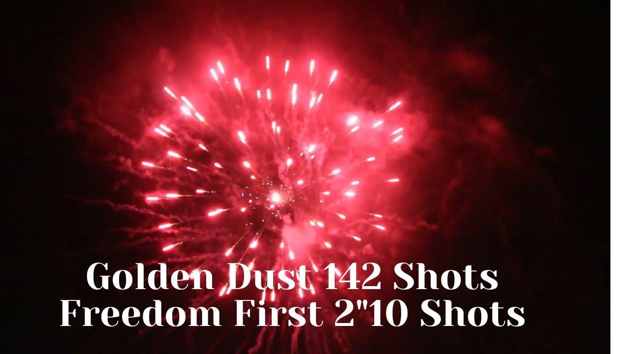 "Golden Dust 142 ShotsFreedom First 2""10 Shots BW1546&BW1549 2021 MASS PRODUCTION VIDEO"