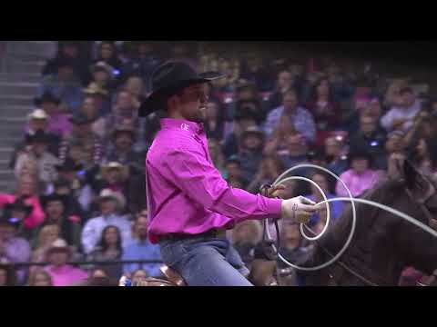 2018 Wrangler National Finals Rodeo Round 10 Highlights