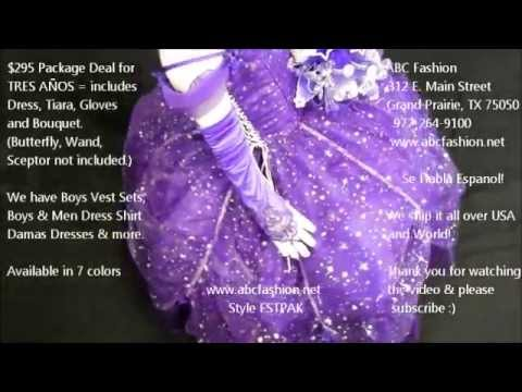 4ef7530e4 Purple 3 Anos Dresses