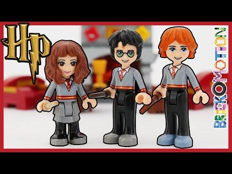 Hogwarts Uniforms For Harry, Ron & Hermione - LEGO Dollify