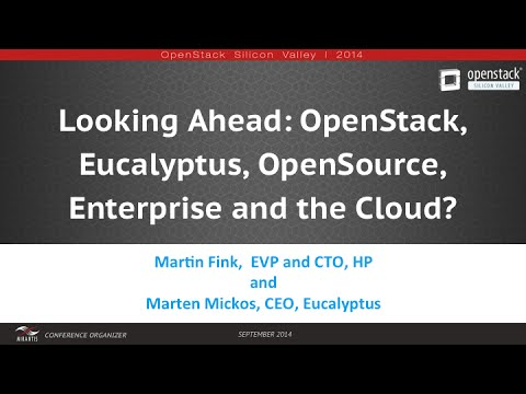 OpenStack Silicon Valley 2014 | Martin Fink and Marten Mickos