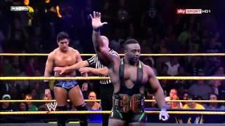 WWE NXT Derrick Bateman Vs Big E Langston