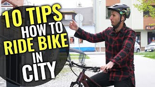 10 MTB TIPS & TRICKS FOR RIDING IN THE CITY!