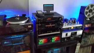 My system update 2018 . The Best collection of HiFi Stereo from 80-ties and 90- ties in the world.