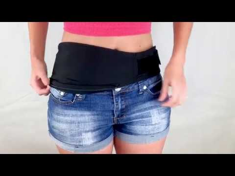 How To Wear An Ostomy Belt By Stealth Belt - Ostomy Bag Support When You Need It Most.