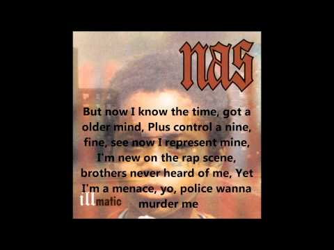 One Time 4 Your Mind - Nas (lyrics on screen) mp3