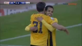 26η ΑΓ. ΑΕΚ-Παναιτωλικός 4-0  (HL)