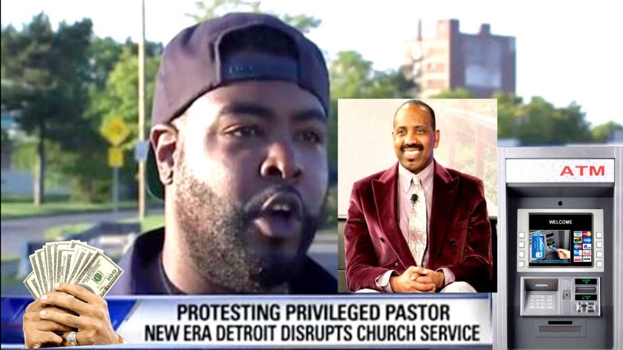 Detroit Church Erupts After Pastor Ask His Members For $1,000 Offering . UPDATE.
