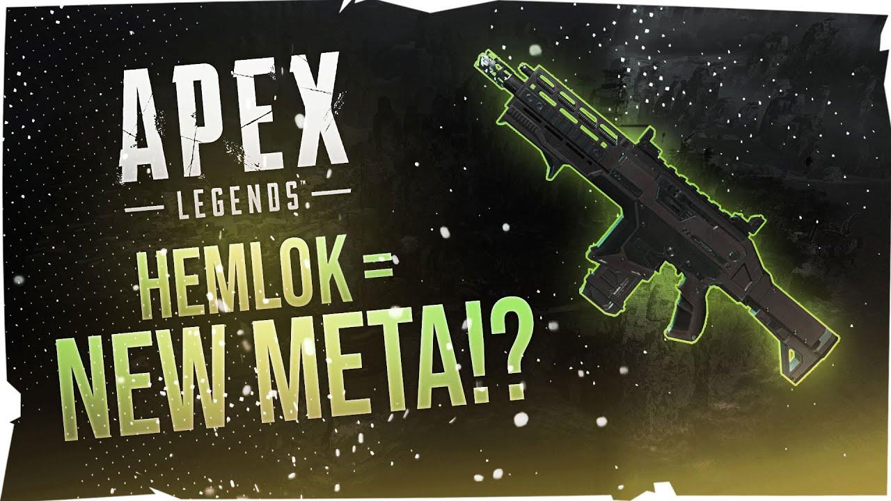 THE HEMLOK SLAPS IN SEASON 8!!! | Apex Legends Season 8 Gameplay