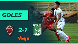Patriotas vs Nacional (2-1) Liga BetPlay Dimayor 2020   Fecha 16