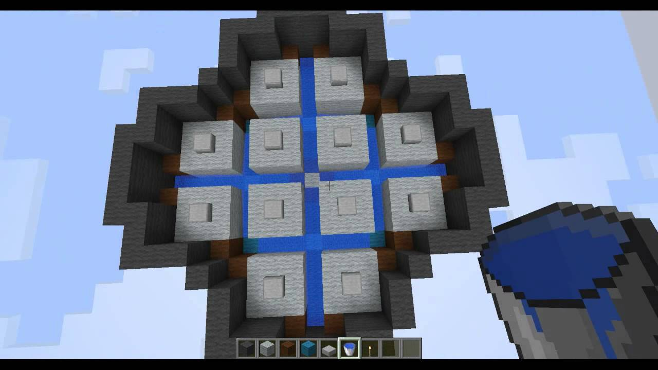 Basic and Easy Mob trap Tutorial Minecraft t