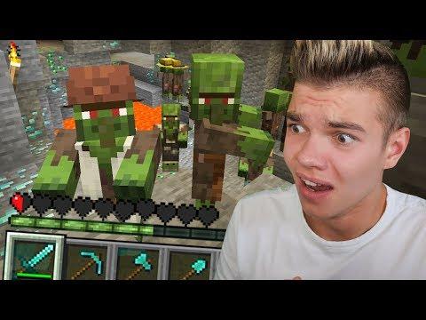 Największe SZCZĘŚCIE W Minecraft, PRZEŻYŁEM!
