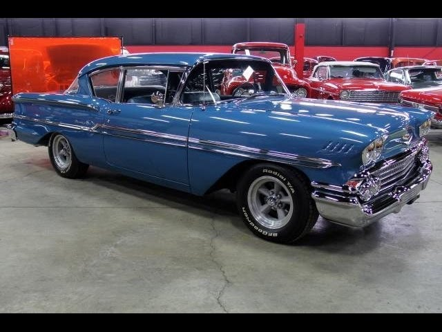 1958 chevrolet biscayne test drive classic muscle car for sale in mi vanguard motor sales youtube 1958 chevrolet biscayne test drive
