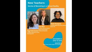 New Teachers: Stories of Becoming in a Virtual Reality