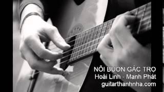 NỖI BUỒN GÁC TRỌ - Guitar Solo