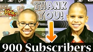 Shout out Sunday Roblox Special Thanks for 900 Subscribers!