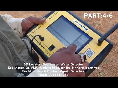 Geo-Master 5 System Water Detector Explanation On VLF  System By Karthik Srinivas #247||  Vysaly