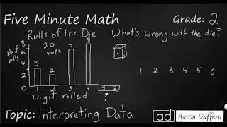 2nd Grade Math Interpreting Data