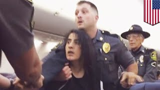 Woman dragged off plane: Southwest passenger booted off flight over deadly dog allergy - TomoNews