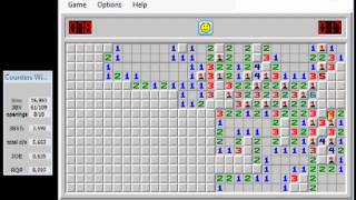 Minesweeper Expert :: 00:31.133 *World Record* Speed Run by Kamil M. (2010 SDA)