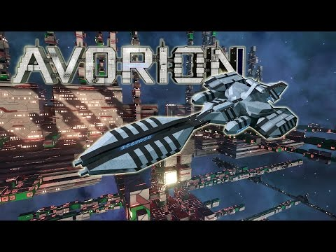 Avorion - New Total Freedom Voxel Space Game, Tutorial + Shi