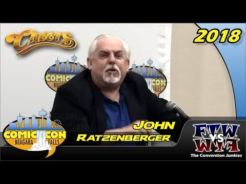 John Ratzenberger Cheers, Incredibles, Cars Niagara Falls Comic Con 2018 Full Panel