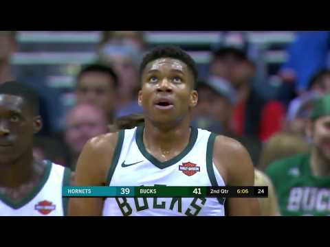 Charlotte Hornets vs Milwaukee Bucks: October 23, 2017
