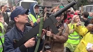 Как полиция захватила дрон в Москве
