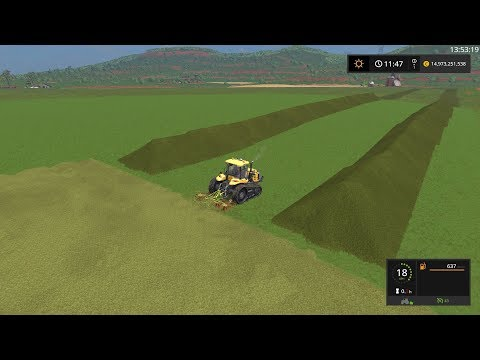 Farming Simulator 17  Timelapse #15 | Unrealistic Series Road to 1 Trillion$ On Estancia Lapacho. thumbnail