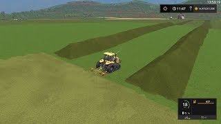 Farming Simulator 17  Timelapse #15 | Unrealistic Series Road to 1 Trillion$ On Estancia Lapacho.