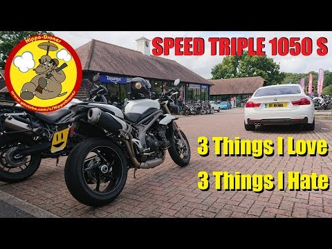 Triumph Speed Triple S - 3 Things I Love & 3 Things I Hate!