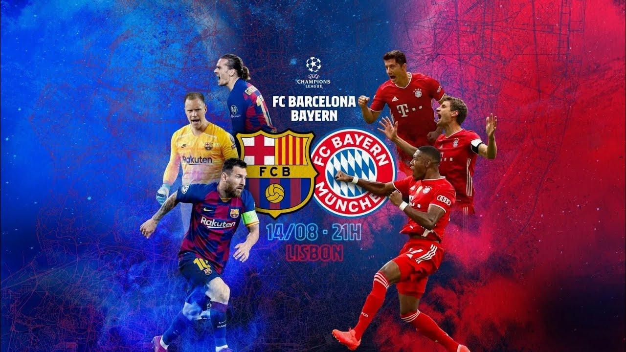 Download Barcelona - Bayern Munich FULL MATCH Champions 2020 CUARTOS DE FINAL