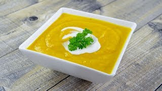 Zupa krem z dyni - Jak zrobić - Smakowite Dania