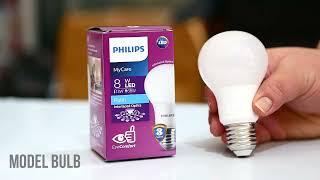 lampu terbaru philips led my care 8 watt.