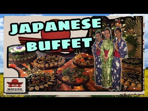 Japanese Buffet || Sushi Lover || Mifune Japanese Restaurant || Dumaguete