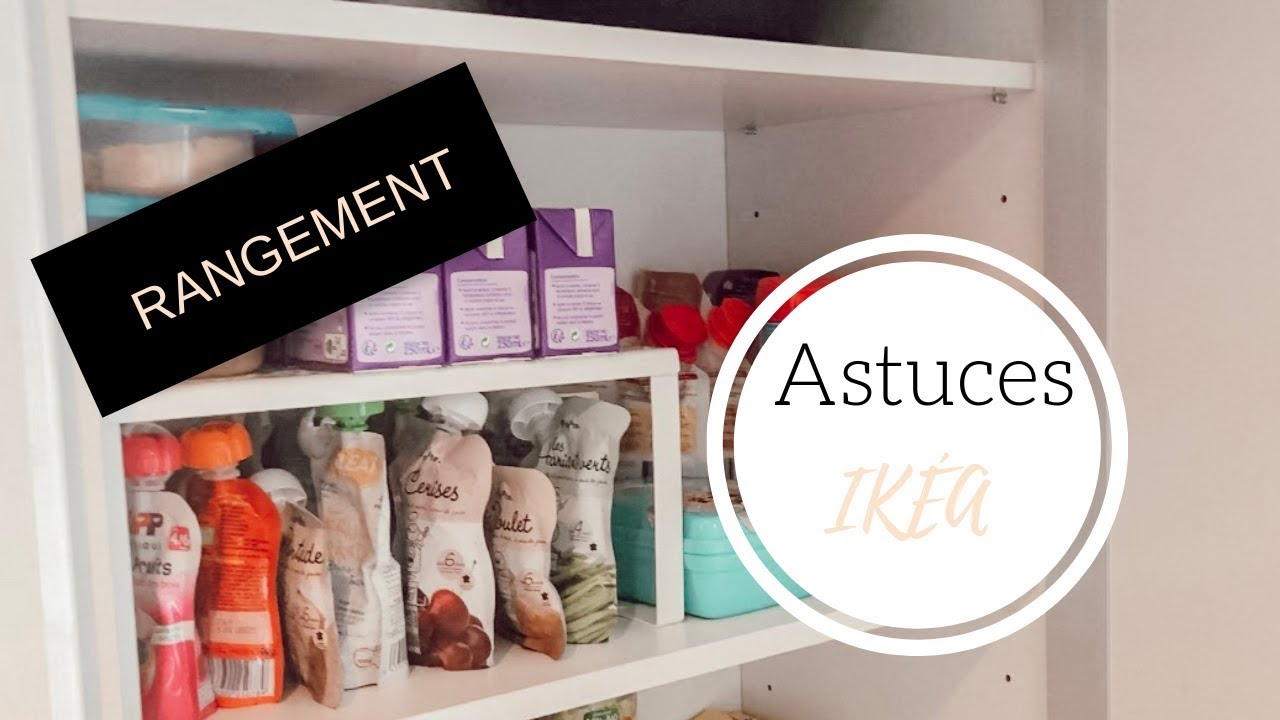 Astuces Rangement Cuisine Placards Tiroirs Avec Ikea Youtube