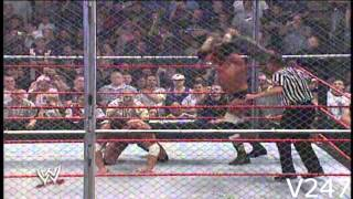 Triple H vs Batista Hell In A Cell Vengeance 2005 Highlights