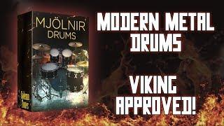 Video Mjölnir Drums by Solemn Tones [Brutal Mix Ready Drums] – Review & Demo download MP3, 3GP, MP4, WEBM, AVI, FLV September 2018