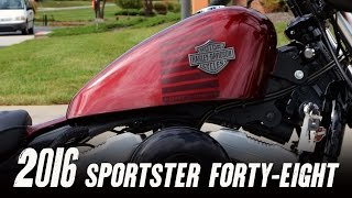 2016 Harley-Davidson® XL1200X - Sportster® Forty-Eight® With Z Bars