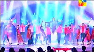 Mehwish Hayat & Ahsan Khan Dhamaka Performance - Servis 2nd HUM AWARDS 2014