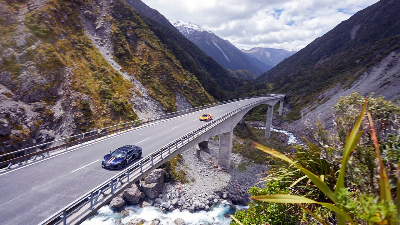 The Ultimate Road Trip - The McLaren Epic Tour of New Zealand