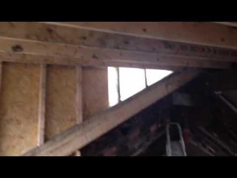 Dormer under construction
