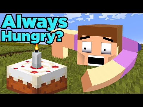 Would Minecraft Steve STARVE to Death?   The SCIENCE of... Minecraft