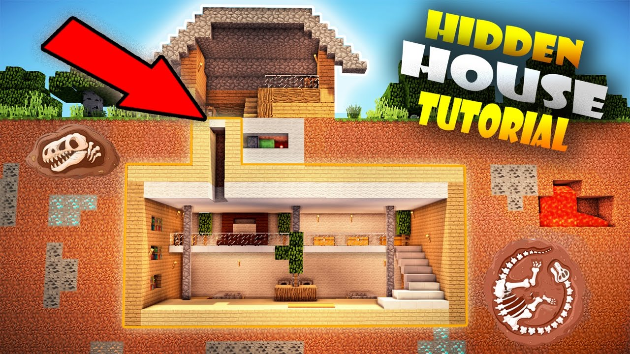 Minecraft How To Make A Secret Room In Your House
