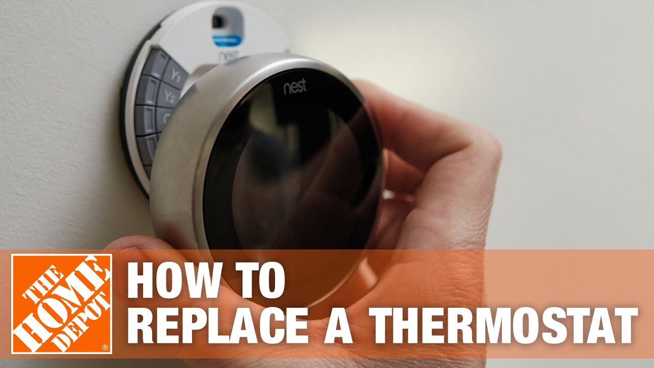 How To Replace An Old Thermostat The Home Depot You