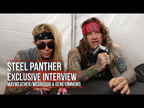 Steel Panther Hate Mayweather/McGregor + Love Gene Simmons
