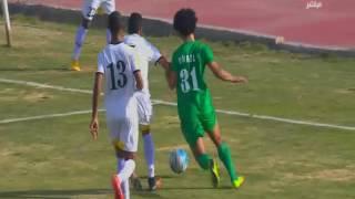 الهدف الأول لفريق سوهاج بعرضية من اللاعب حسن الشاذلى فى الدقيقة 25 من أحداث الشوط الأول