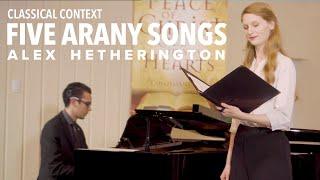 Ligeti: Five Arany Songs
