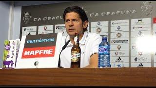 Petar Vasiljevic. Previa Osasuna-Sporting